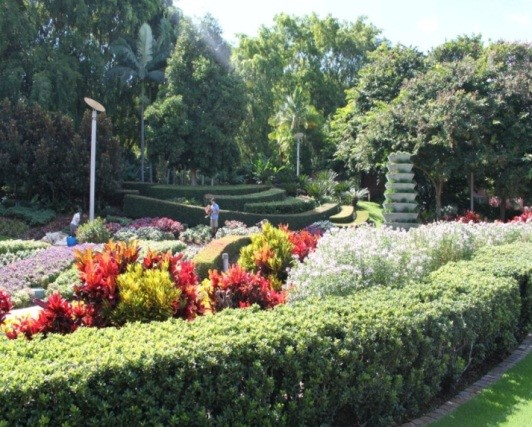 Roma Street Station Gardens